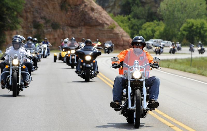 harley davidson group ride