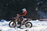 winter dirtbike riding