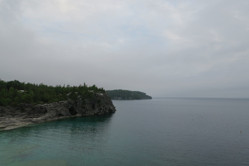 georgian bay foggy