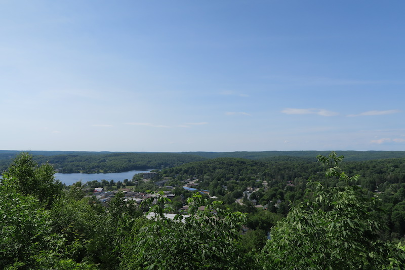 haliburton lookout view