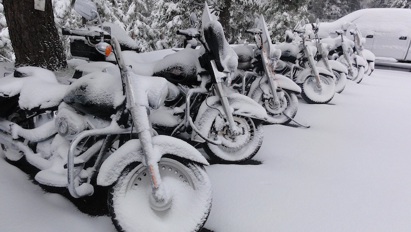 winterizing a motorcycle