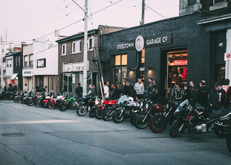 Bike Night at Steeltown Garage