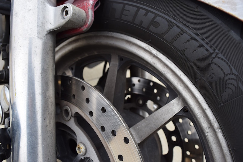 michelin tires and motorcycle brake rotor