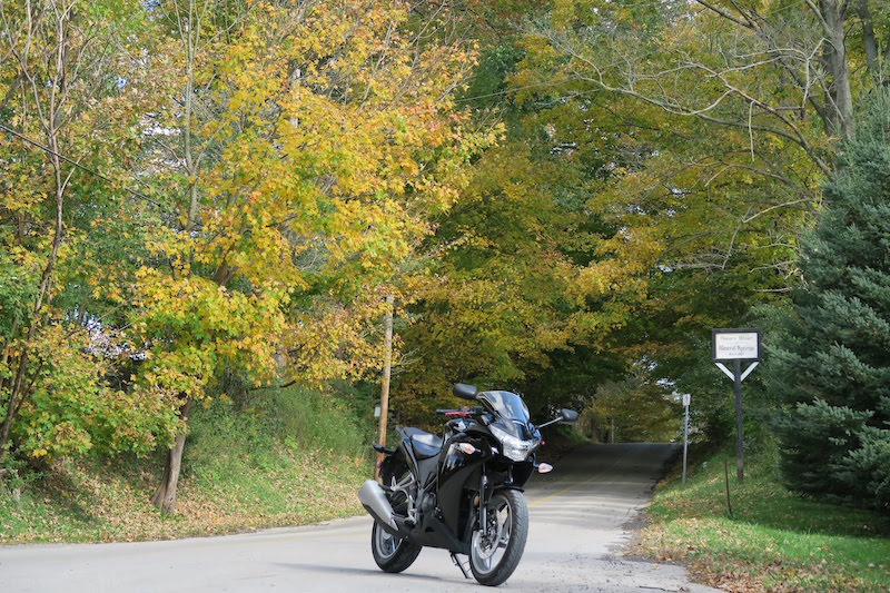 motorcycle riding in mineral springs