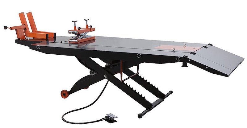 APlusLift 1500LB Air Operated Lift Table