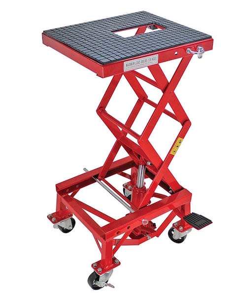 extreme max hydraulic lift stand