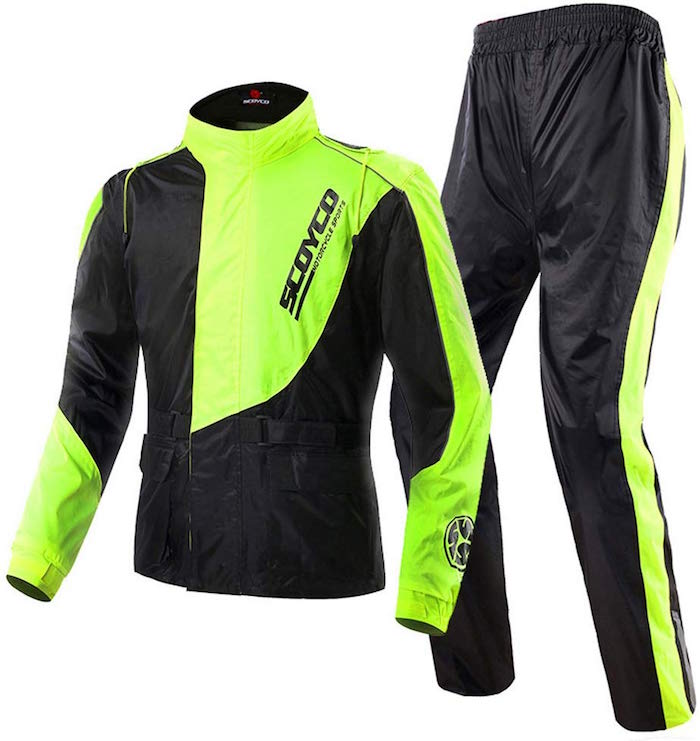 Scoyco RC01 Motorcycle Rain Suit
