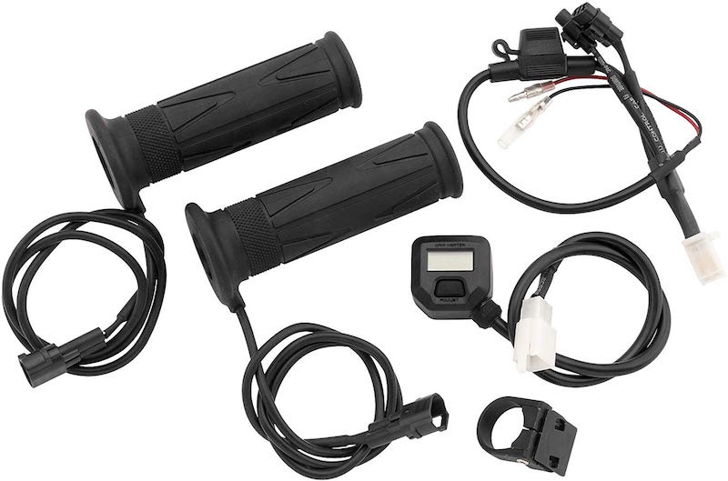 BikeMaster Heated Grips with LCD Switch