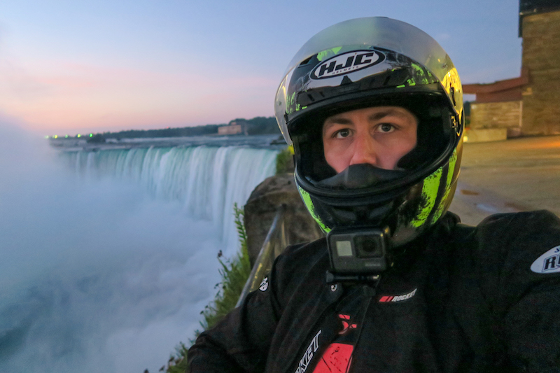bobby at niagara falls