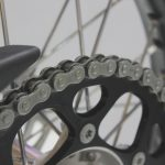 clean motorcycle chain