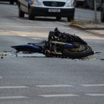 motorcycle crashed accident