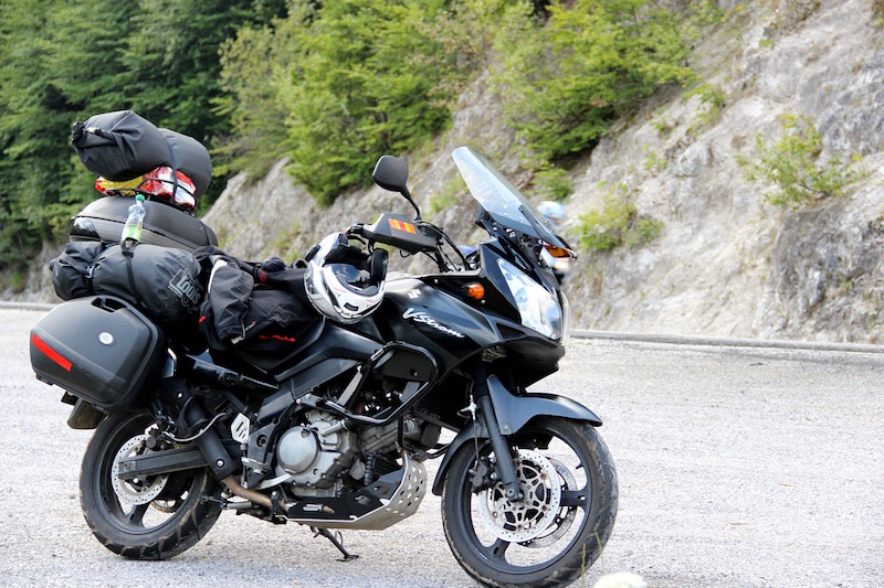 high mileage suzuki vstrom
