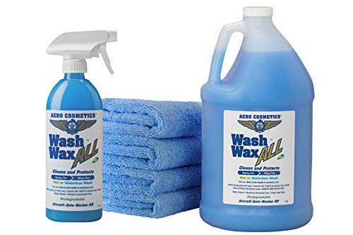 Aero Cosmetics Wash Wax Kit