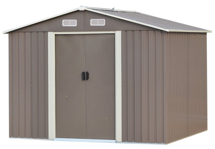 Ainfox Steel Storage Shed