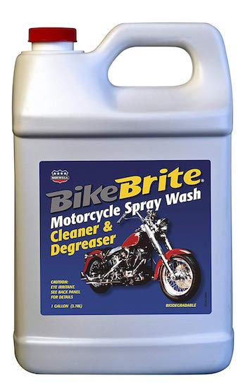 Bike Brite Motorcycle Spray Wash Cleaner and Degreaser