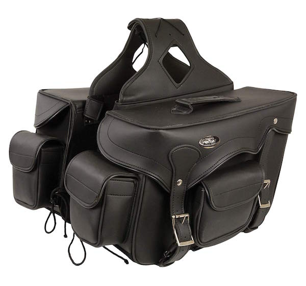 Milwaukee Leather Saddle Bag