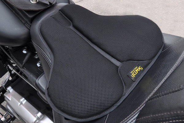 SKWOOSH Classic Saddle Motorcycle Gel Seat Cushion