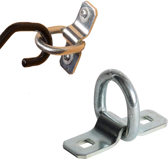 DC Cargo Mall D-Ring Tie-Down Anchors