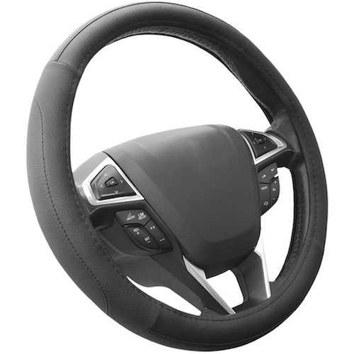 SEG Direct Microfiber Car Universal Steering Wheel Cover