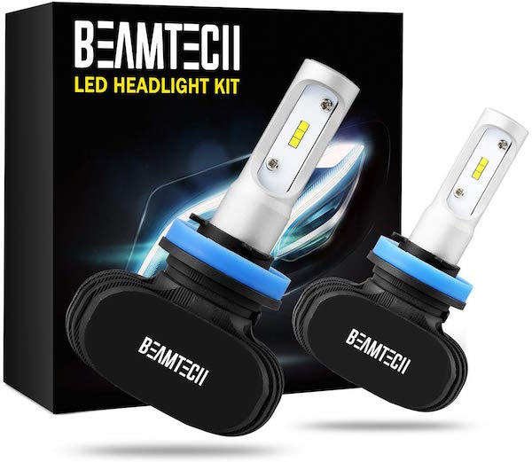 BEAMTECH H11 LED Headlight Bulbs
