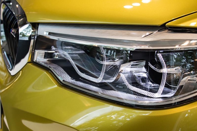 led headlights on bmw