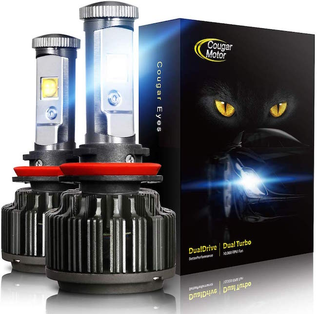 Cougar Motor LED Headlight Bulbs