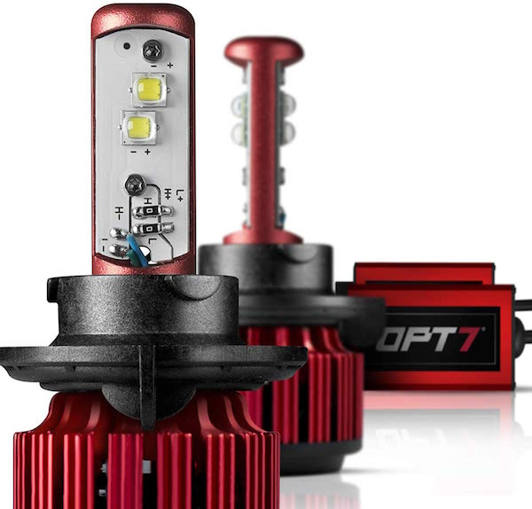 OPT7 FluxBeam Choice LED Headlight Kit