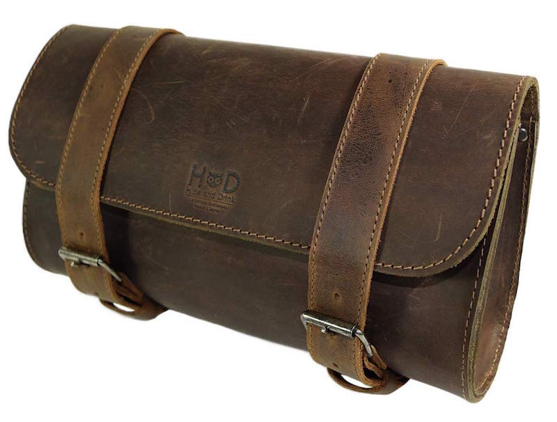 Hide & Drink Leather Handlebar Bag