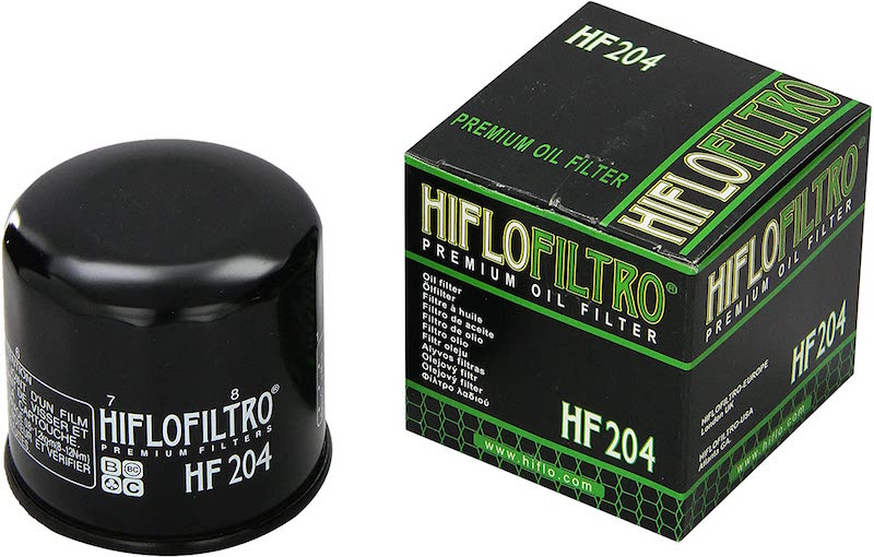 Hiflofiltro HF204 Black Premium Oil Filter