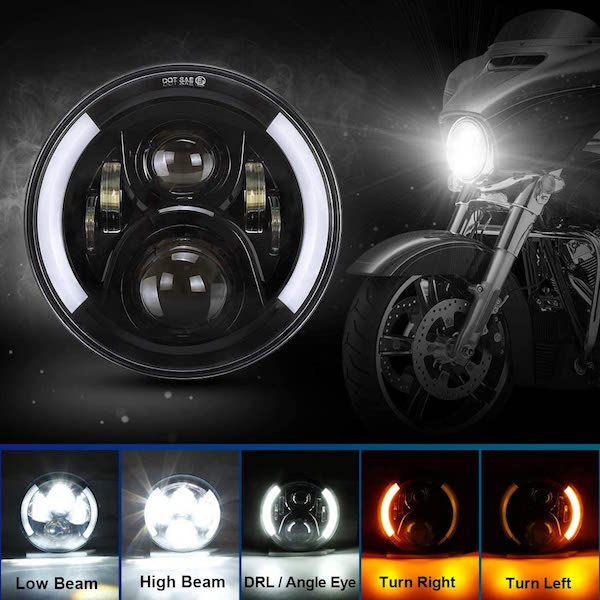 "SUPAREE 7"" LED Motorcycle Headlight"