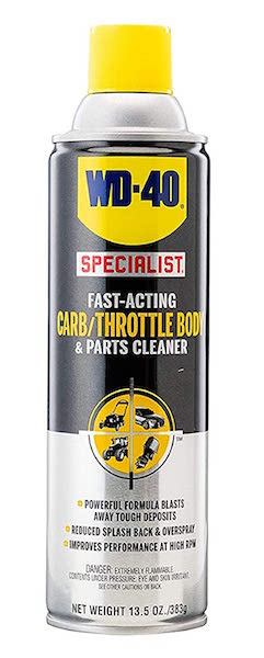 WD-40 Specialist Carb/Throttle Cleaner