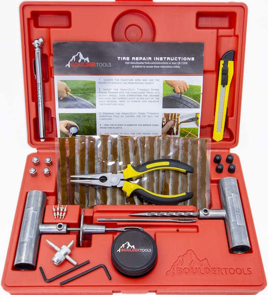 Boulder Tools Heavy Duty Tire Repair Kit