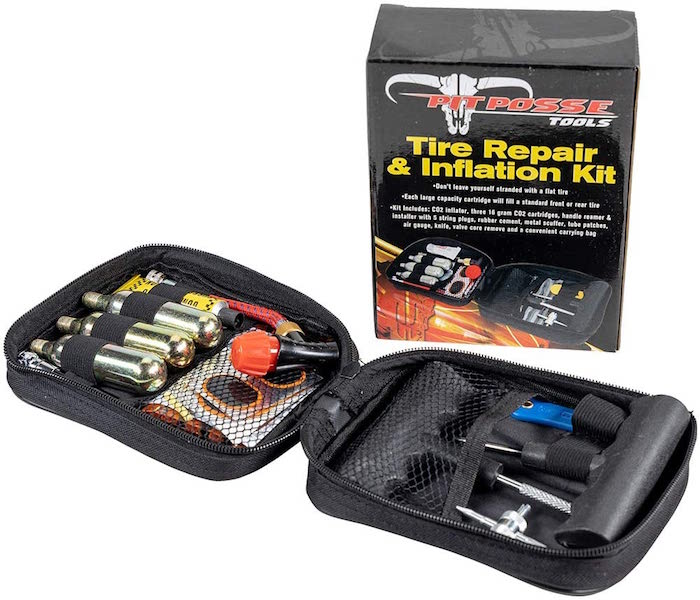 Pit Posse Motorcycle Tire Repair Kit