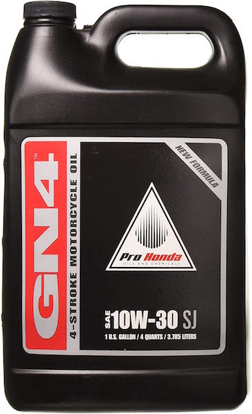 Honda GN4 10W-30 Motorcycle Oil
