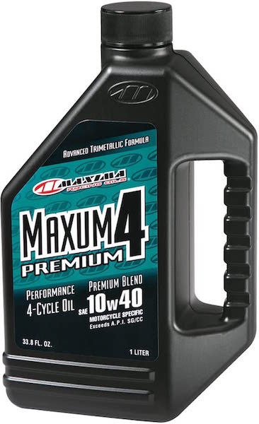 Maxima Premium4 10W-40 Motorcycle Engine Oil