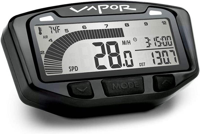 Trail Tech 752-111 Black Vapor Digital Speedometer
