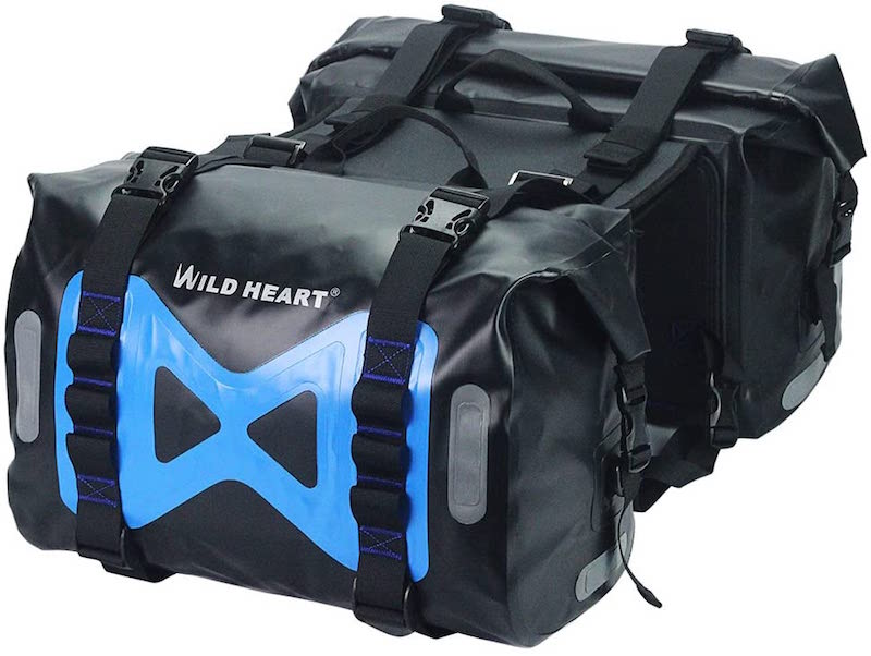 Wild Heart Motorcycle Saddlebag