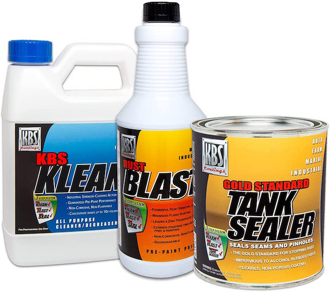 KBS Coatings Fuel Tank Sealer Kit