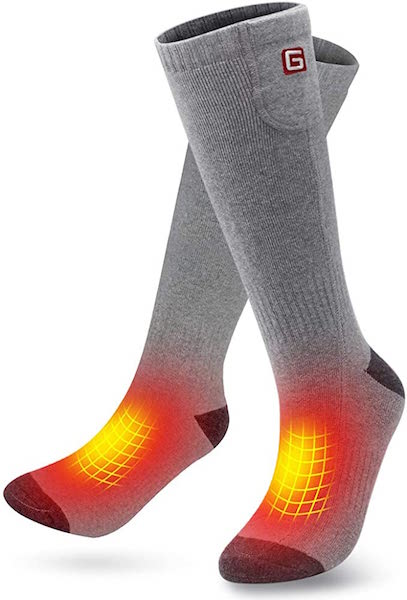 GLOBAL VASION Heated Socks