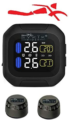 SYKIK Rider SRTP300 Wireless Tire Pressure Monitoring System