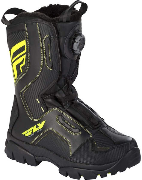 Fly Racing BOA Marker Snowmobile Boots